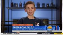 Super Bowl selfie kid reveals aftermath of picture on 'Today'
