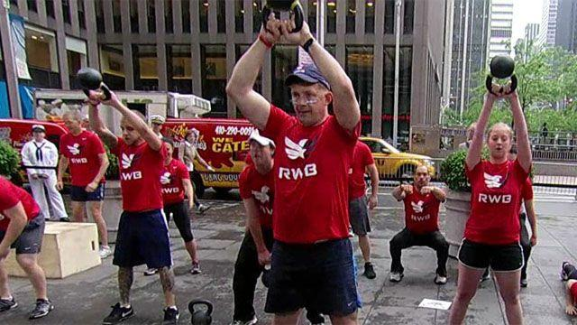 Team Red, White and Blue enriches lives of America's vets