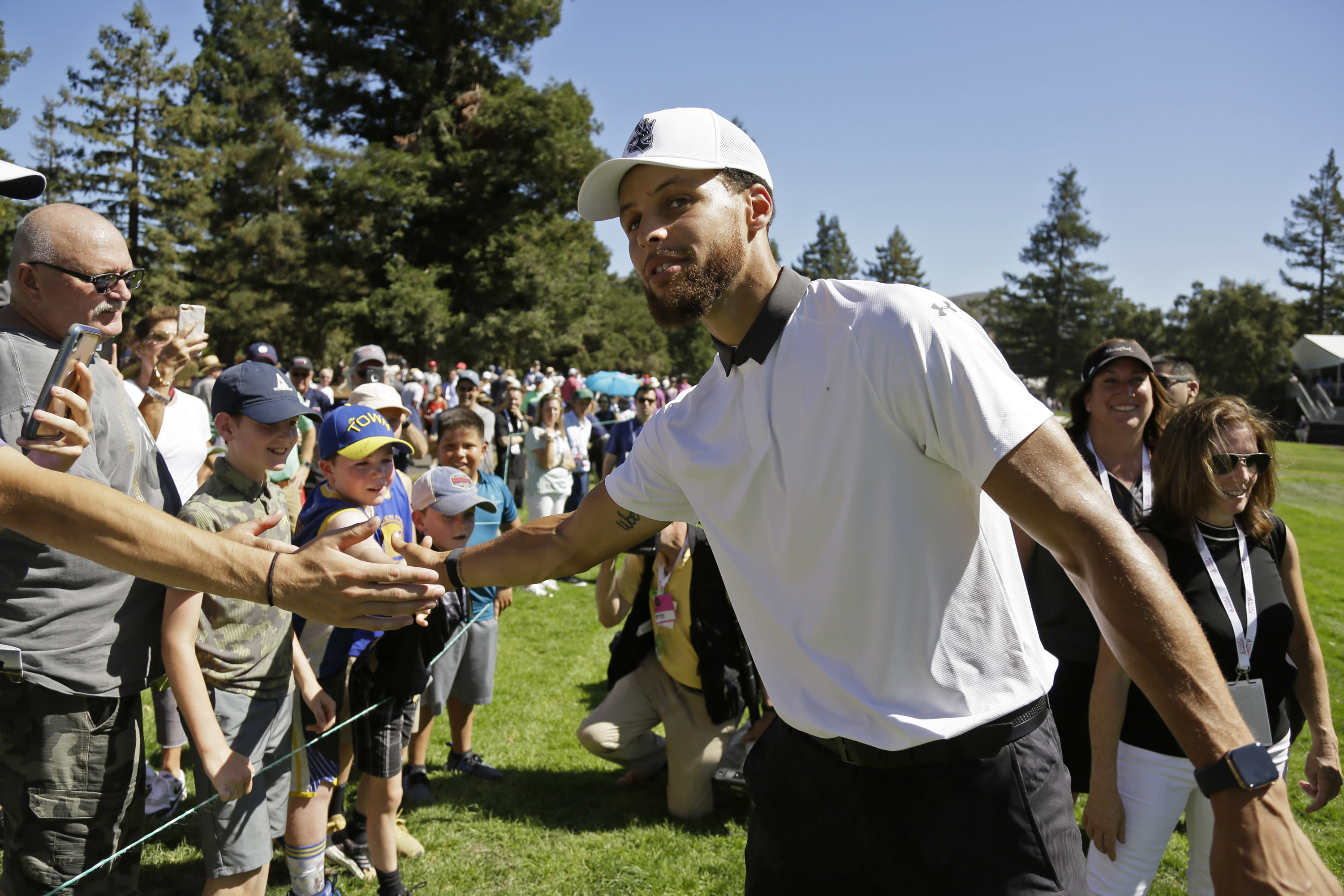 PGA Tour Golfer Denies Spitting On Tony Romo's Ball During Safeway Open