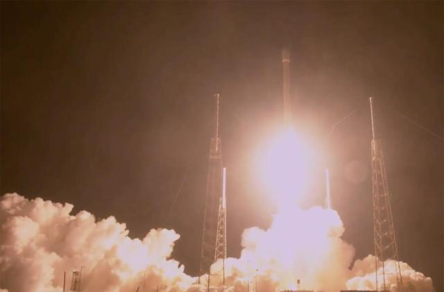 First SpaceX launch of 2018 carries a secret payload