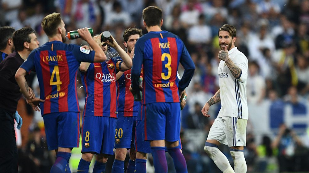 O triste recorde de Sergio Ramos contra o Barcelona