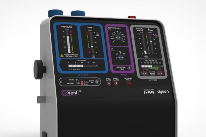 Dyson CoVent ventilator