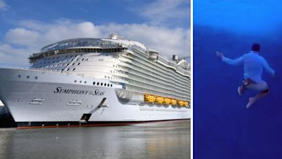 Canadian banned for life after jumping off cruise ship