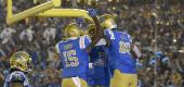 UCLA football players. (AP)