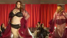 Plus size model helps recreate Victoria's Secret Fashion Show