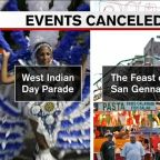 NYC cancels all large events through September