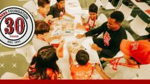 49ers Foundation Announces 30th Anniversary Celebration