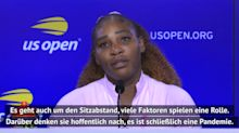 US Open: Serena sorgt sich um French Open