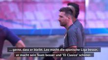 Ramos: Weiß nicht, ob Messis Vorgehen richtig ist