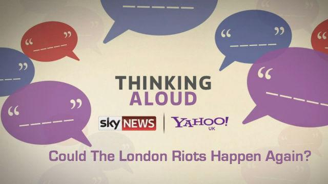 Thinking Aloud: Could The London Riots Happen Again?