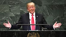 Trump touts his own achievements, and the U.N. laughs