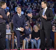 Marco Rubio jeered at CNN town hall on school shootings