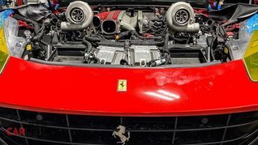Ferrari「馬王」也要掉漆!F12 Berlinetta首輛「雙渦輪」千匹版曝光