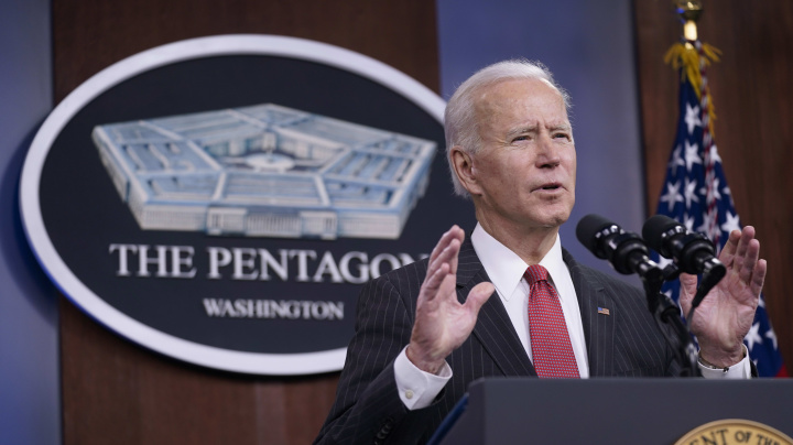 Biden picks first woman to be secretary of the Army