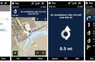Bing app for WinMo 6.x phones adds turn-by-turn navigation