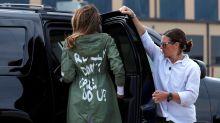 Melania Trump unauthorized biography claims 'I Really Don't Care. Do U?' jacket was a jab at Ivanka