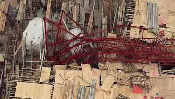 Crane collapse injures 7 in Long Island City