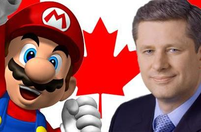 Mario more recognizable in Canada than Prime Minister