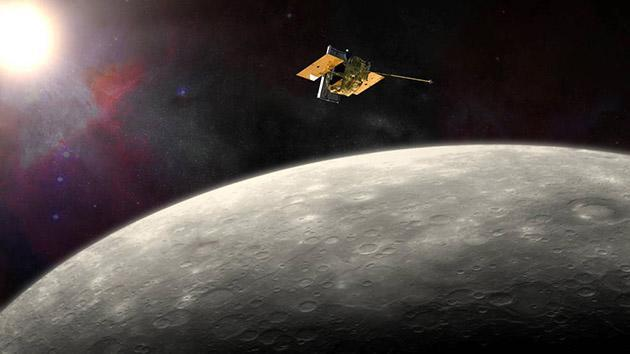 Messenger spacecraft to crash into Mercury after studying it for years