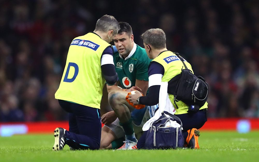 Conor Murray suffered the injury against Wales last week - Copyright (c) 2017 Rex Features. No use without permission.