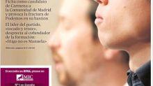 Las portadas del divorcio definitivo entre Pablo Iglesias e Íñigo Errejón