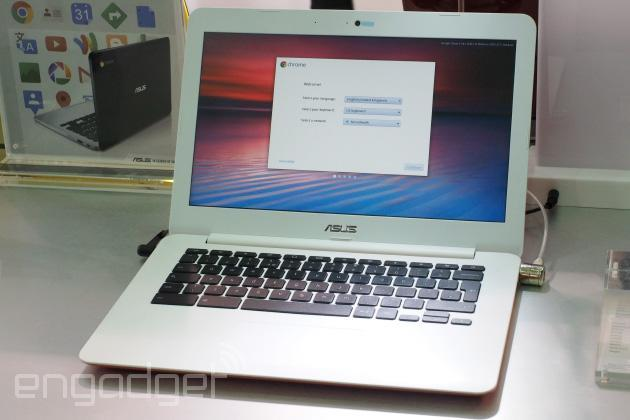 ASUS' Chromebook C300 is yet another well-made budget laptop