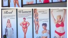 Empowering lingerie campaign celebrating diversity is criticised for being in 'poor taste'? Er, what?