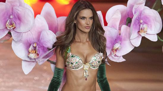 Alessandra Ambrosio Shows Off $2.5 Million Bra
