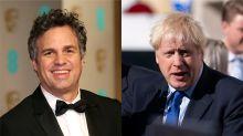 Dense and destructive: Mark Ruffalo on Boris Johnson's Incredible Hulk metaphor