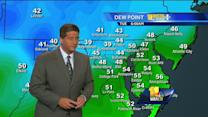 Tony: Sunny, cooler, low-humidity day ahead
