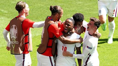 England up and running at Euro 2020 as Raheem Sterling strike sinks Croatia