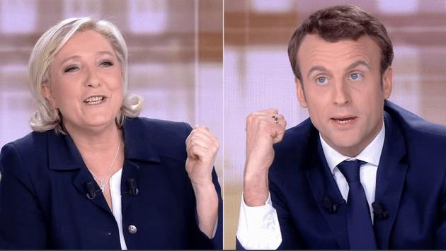 """Présidentielle de 2022: Emmanuel Macron et Marine Le Pen toujours """"finalistes"""" potentiels, selon un sondage"""