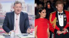 Piers Morgan Bans Any Mention Of Harry And Meghan On Good Morning Britain