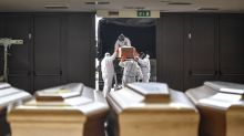 The Latest: Germany takes COVID-19 patients from Italy