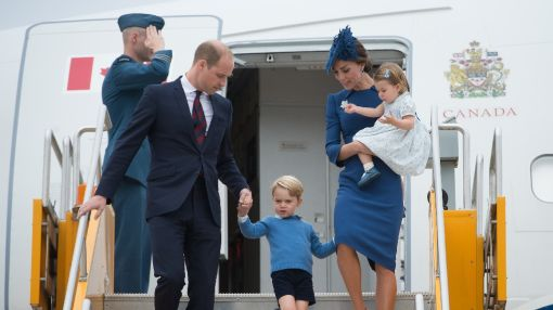 Prince William and Kate visit Canada
