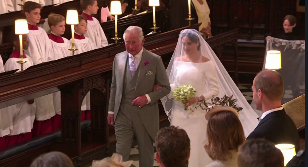 Meghan Markle's wedding dress has a secret feminist statement