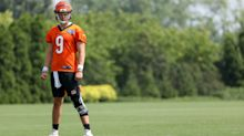After rough first day in pads, should Bengals fans be concerned about Joe Burrow?