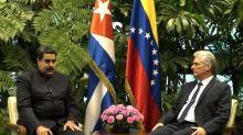 Díaz-Canel estrenó con Maduro actividad internacional