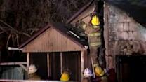 Man's home burns for third time in 2 weeks