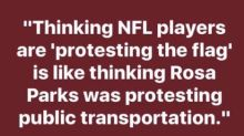 #TakeAKnee Isn't About The Flag. It's About America's Racism.