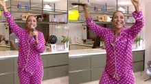 Pijama de Ivete Sangalo chama atenção em live e custa quase R$ 400