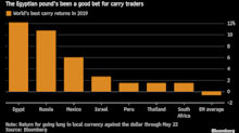 World's Top Carry Trade Here to Stay as Egypt Seen Holding Rates