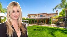 Inside 'The Big Bang Theory' star Kaley Cuoco's California villa