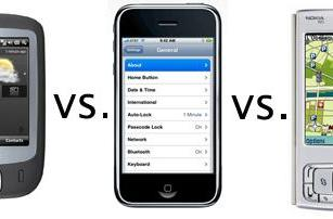 iPhone trumps HTC Touch, N95 in usability study