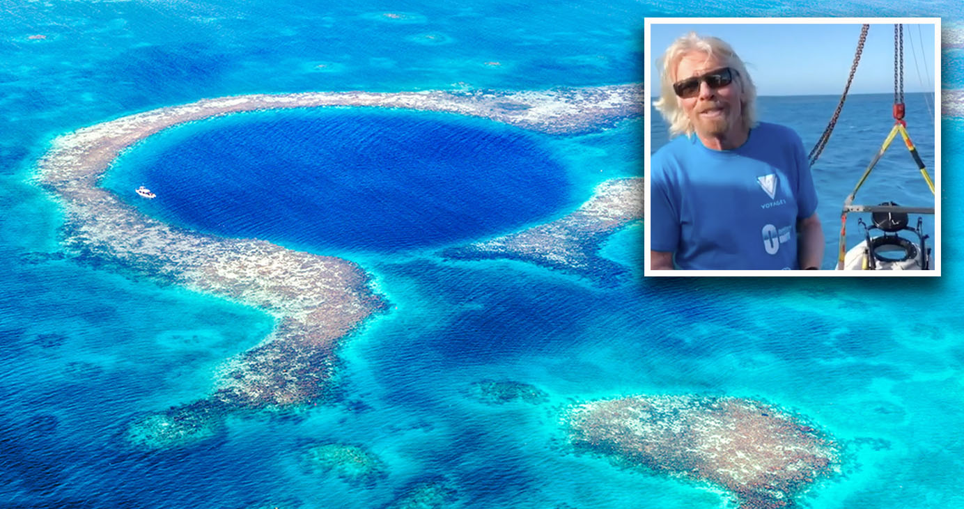 Sad truth behind what's at bottom of world's largest sinkhole
