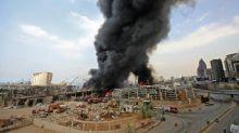 Liban: l'incendie au port de Beyrouth éteint, une partie de l'aide humanitaire détruite