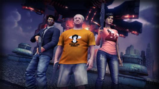 Saints Row 4 'Hey Ash' DLC makes homies out of the Burch family