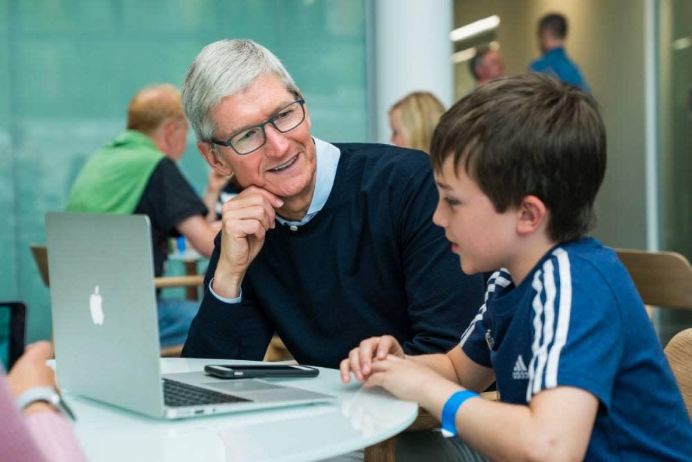 最真誠的勸戒!庫克:蘋果不希望大家一直使用手機