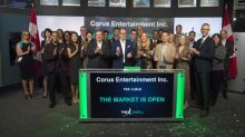 Corus Entertainment celebrates 20 year anniversary at Toronto Stock Exchange
