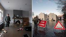 In pictures: People ordered to evacuate homes as Storm Christoph causes flooding chaos